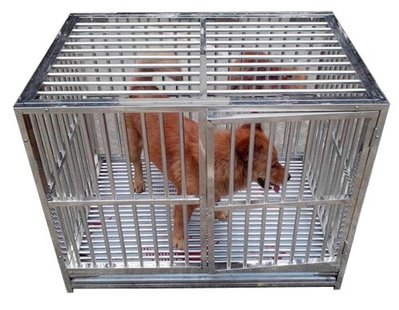 狗籠 兔籠 寵物籠 pet rabbit dog cage 專業耐用全不銹鋼 whole durable HQ Stainless Steel HLC3020
