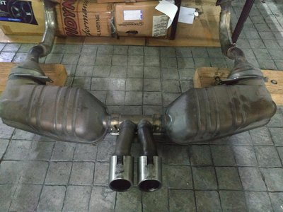 2009-2012 987.2 porsche boxster cayman 原廠排氣管