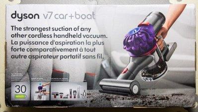 Dyson V7 Car+Boat Cord-Free Handheld 手提吸塵機 #吸走塵蟎