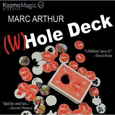 【意凡魔術小舖】美國原廠The (W)Hole Deck by Marc Arthur and Kozmomagic~無底洞~
