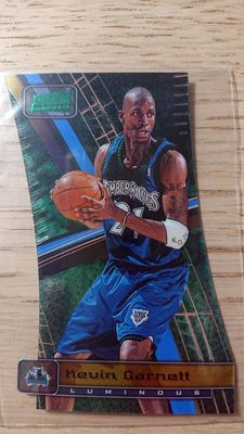 98-99 STADIUM CLUB TRIUMVIRATE LUMINOUS #T3B KEVIN GARNETT