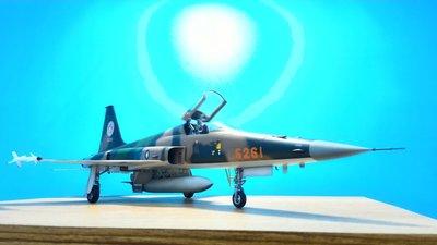 模型大尺寸限量版空軍F-5E 戰鬥機自組套件1100可代工不含料全掛載外型7900(請先連繫存貨情形)