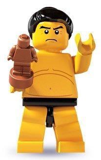 LEGO 樂高 3代 7號 相撲選手 人偶包 全新 8803 minifigures seaeon 3 三代人偶包