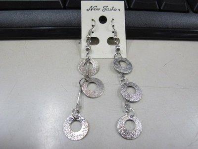 二手舖 NO.4520 時尚造型耳環 耳針 耳鉤 便宜賣 首飾飾品