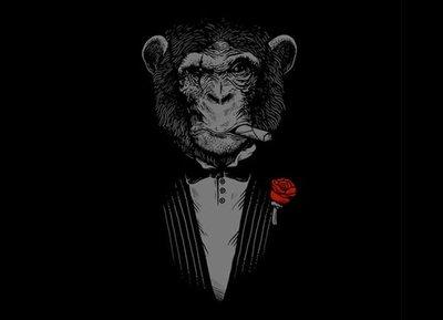 Monkey Business by Alex Solis From Threadless.com  美國空運進口(預購)