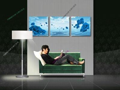 【60*60cm】【厚1.2cm】紫色玫瑰-無框畫裝飾畫版畫客廳簡約家居餐廳臥室牆壁【280101_050】(1套價格)