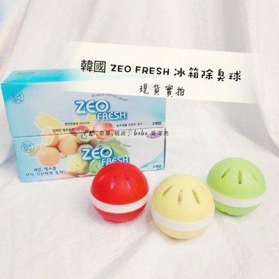 韓國ZEO FRESH冰箱除臭球3入一組