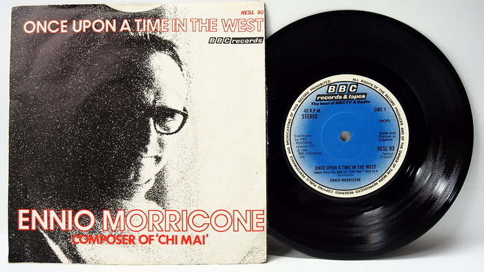 45 rpm 7吋單曲 Once Upon a Time in the West【狂沙十萬里】1981 英國 BBC