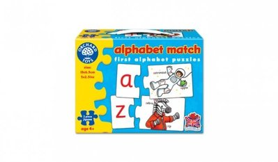 *小P書樂園* 英國 Orchard Toys ~Alphabet Match拼圖