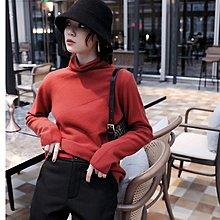 『 筱涵 日系美學衣飾 』有風度有溫度 雙股編織加厚幾何斜向紋理卷邊自由領全羊毛打底衫