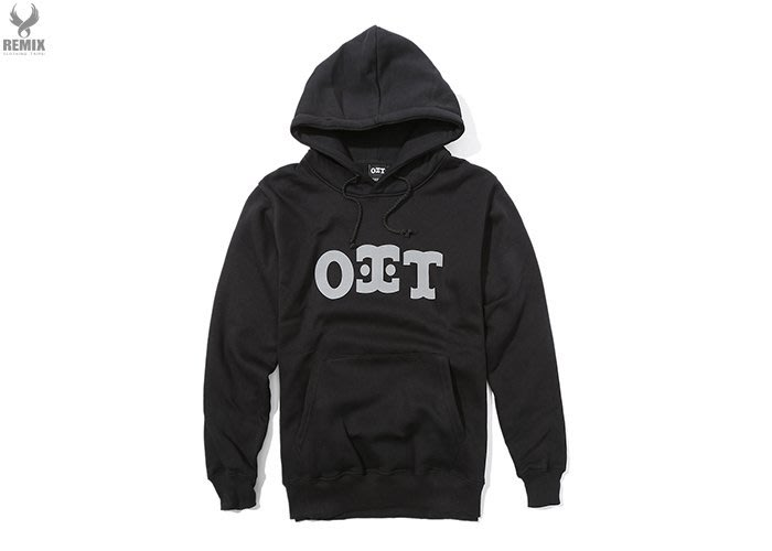 ERIC.COM ONLY 街頭品牌 OIT 3M Logo Hoodie [ 黑 ]