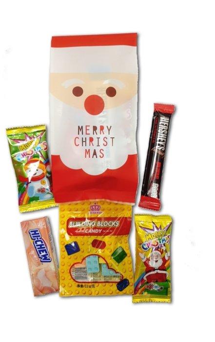 聖誕驚喜糖果包每包60元~娃娃屋樂園幸福禮物婚禮小物~聖誕節禮物/耶誕節糖果/聖誕節糖果/送客糖果/金莎棒/二次進場