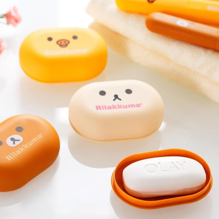 肥皂盒創意旅行時尚便攜帶蓋手工皂盒卡通防漏肥皂盒收納香皂盒