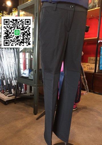 全新 adidas Golf 仕女高爾夫長褲 運動布料科技 黑款 高彈性 專為高爾夫設計的休閒兩用長褲 四季皆可穿著