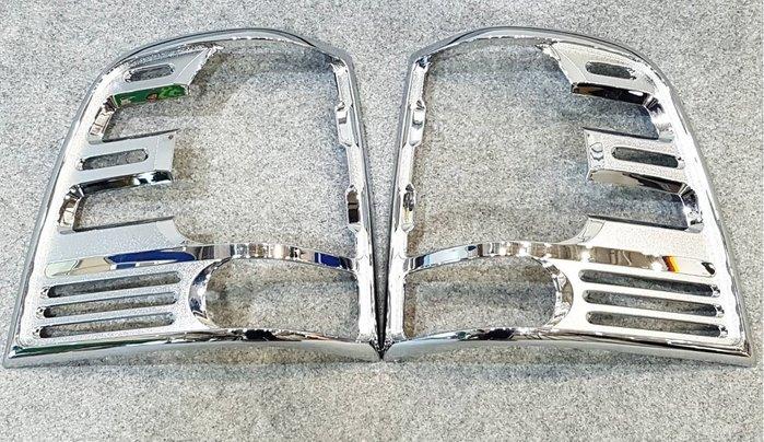 福特 FORD EXPEDITION 03-06 電鍍後燈框 鍍鉻尾燈框 改裝 台灣製