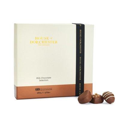 [要預購] 英國代購 HOUSE OF DORCHESTER 牛奶巧克力禮盒 160g