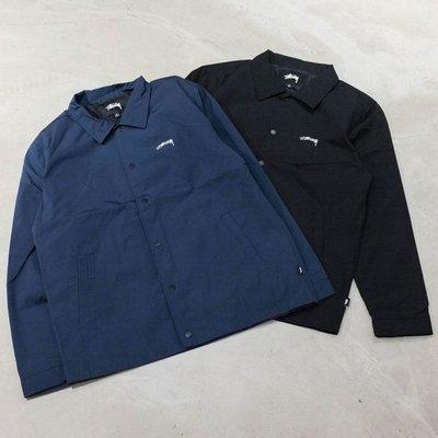 【車庫服飾】STUSSY 20FA CLASSIC COACH JACKET 尼龍有領教練外套