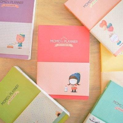❅PAVEE❅ 【現貨】韓國Romane~ Momo's Blog Planner 莫莫的部落格 可愛娃娃萬用手冊