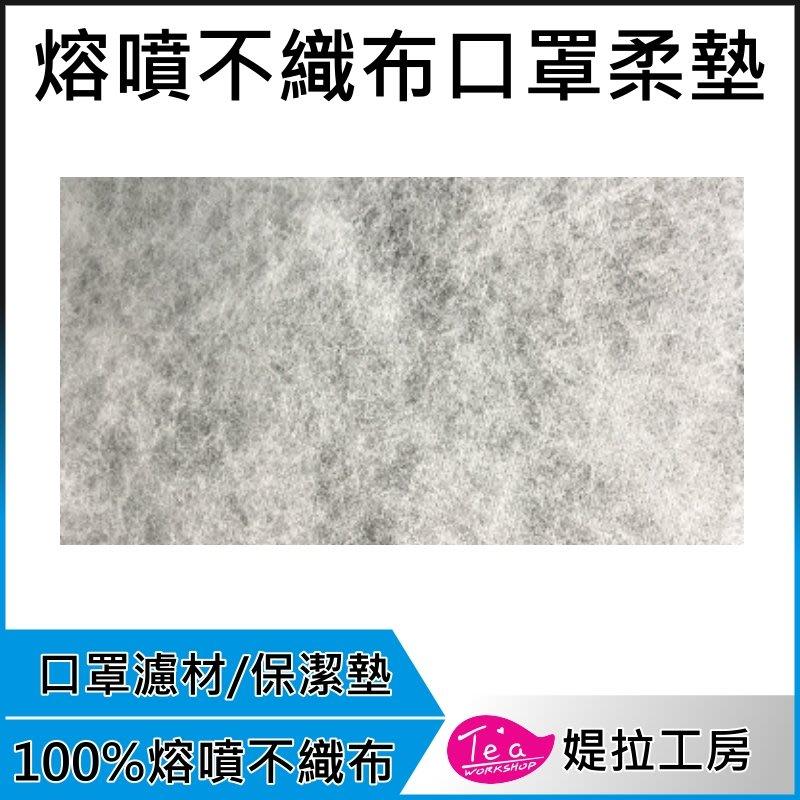 【通過SGS認證現貨1包50入】台灣製 熔噴不織布 拋棄式口罩防塵保潔墊 防水材質 不織布 防塵 口罩濾材