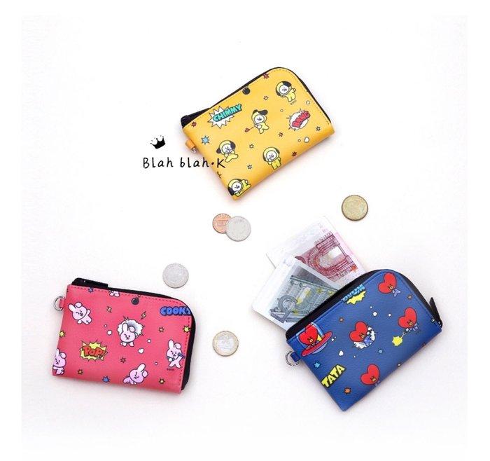 BT21 x monopoly 卡夾 零錢包 多功能 收納包 票卡夾 官方正品代購