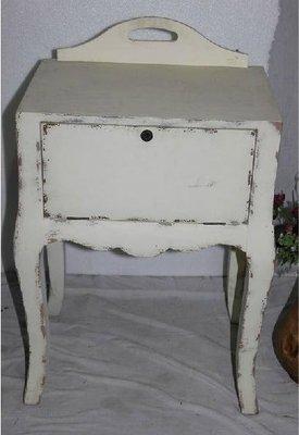 INPHIC-田園風格家居飾品 仿舊傢俱 特色仿舊木質櫃子 床頭櫃