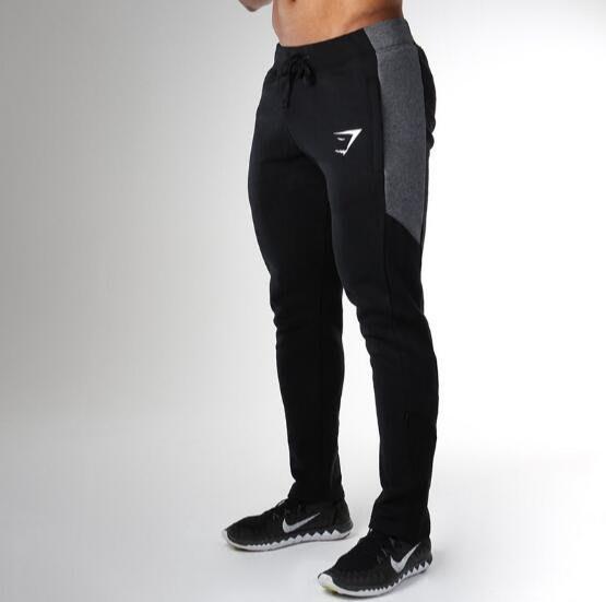 肌肉兄弟運動褲子加厚保暖長褲男式跑步健身訓練褲休閑衛褲—莎芭