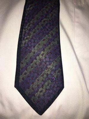 Mila schon義大利絲質領帶 9.5成新 窄版