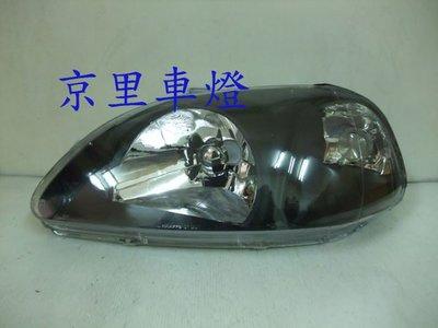 京里車燈專網  HONDA 本田 CIVIC K8 六代 96-98 日規黑框大燈(也有改款後)