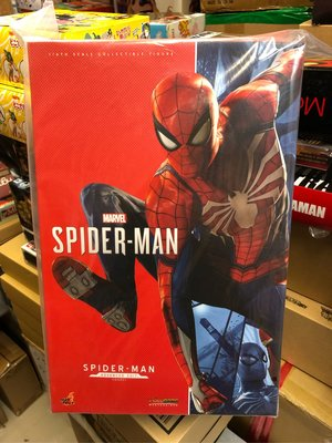全新未開 Hottoys Marvel PS4 Game 版 Spider-Man 蜘蛛俠 Spiderman