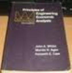Principles of Engineering Economic Analysis》ISBN:0471503509│