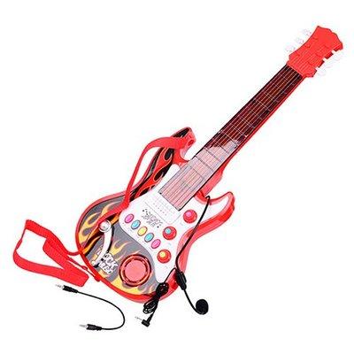 *現貨含運* 小明星仿真兒童電吉他樂器