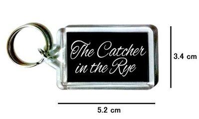 〈可來圖訂做-鑰匙圈〉The Catcher in the Rye 麥田捕手 壓克力雙面鑰匙圈 (可當吊飾)