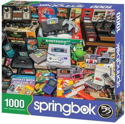 【丹】Springbok Jigsaw Puzzle Gamer's Trove 遊戲搖桿 拼圖 1000片