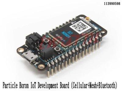 《德源科技》r) 原廠 Particle Boron IoT 開發板 (蜂窩+網格+藍牙) (113990598)