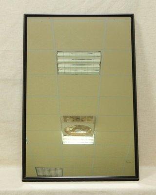 【采盈藝廊】簡約細邊黑色鋁框掛鏡 可當整容鏡 穿衣鏡 超低特價999元 MIT台灣製造 高雄畫廊
