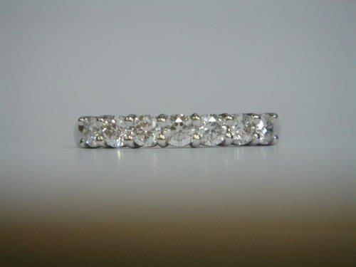【 PT950鉑金白金線戒 】玫瑰金線戒 玫瑰金鑽戒 鑽石比tiffany cartier hof i-primo還亮