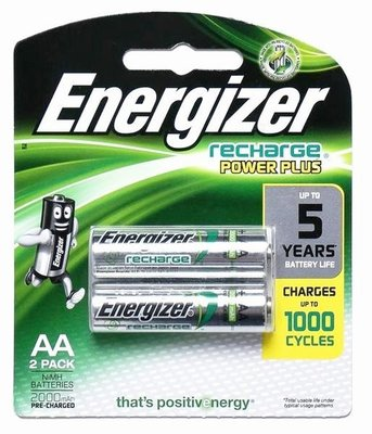 {MPower} 勁量 Energizer 低放電 2A, AA 2000mAh Rechargeable Battery 充電池 (日本製) - 原裝行貨