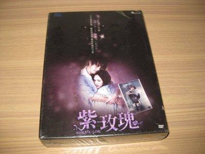 全新偶像劇《紫玫瑰》DVD (全劇13集) 梁文音 黃騰浩 許瑋甯