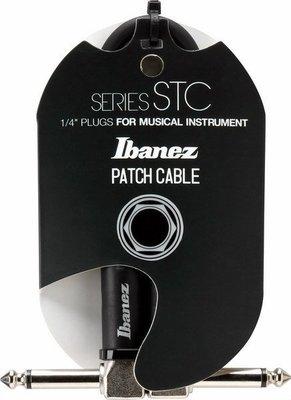 ☆ 唐尼樂器︵☆全新 IBANEZ STC 系列電吉他/電貝斯/ Bass 效果器24公分短導線(缺貨中)