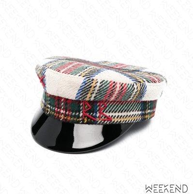 【WEEKEND】 RUSLAN BAGINSKIY RB Checked 格紋 報童帽 帽子 米+多色 21春夏
