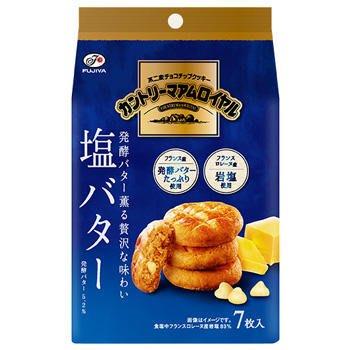 Fujiya 不二家 皇家鹽奶油餅 7入 84g 日本進口零食 JUST GIRL