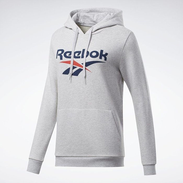 限時特價南◇2020 12月  Reebok Classics Vector 連帽上衣 女 FK2773 灰色 帽TEE