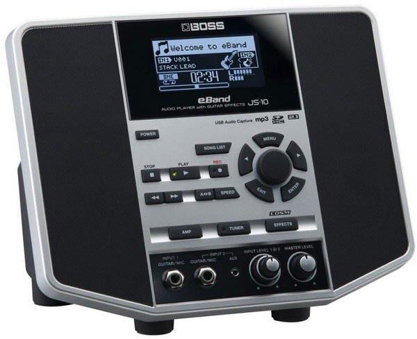 ☆ 唐尼樂器︵☆ BOSS eBand JS-10 JS10 電吉他綜合效果器(內建 GT-100)/數位錄音工作站