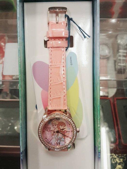 GIFT41 4165本通 板橋店  迪士尼 石英指針錶 冰雪奇緣