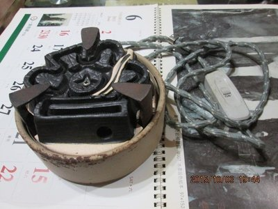 早期 日本茶道具 野々田商店 炭型電熱器