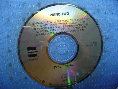 [無殼光碟]GA  PRIVATE MUSIC  PIANO TWO  MADE IN USA