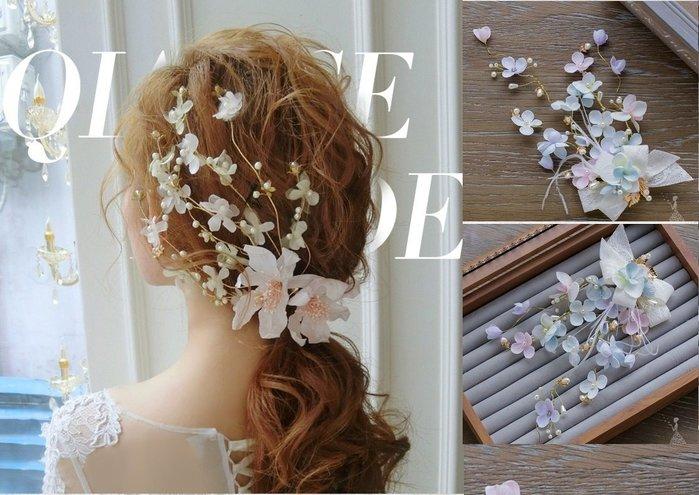 新娘飾品瑪姬主義-  F394手工羽毛髮飾