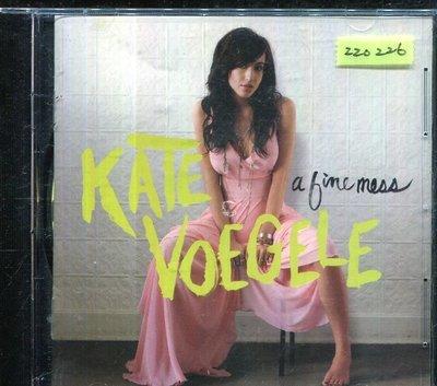 *還有唱片三館* KATE VOEGELE / A TIME MESS 二手 ZZ0226 (封面底破)