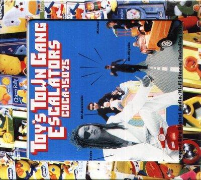 K - ESCALATORS - Toy's Town Gang - 日版 BOX CD