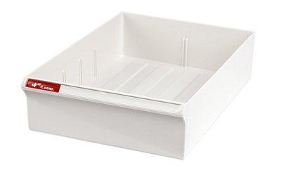 桌上型資料櫃 雪白 抽屜 P抽*2 + H抽 *1
